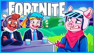 NINJA CASTS MY GAMEPLAY in Fortnite: Battle Royale! (Fortnite Funny Moments & Fails)