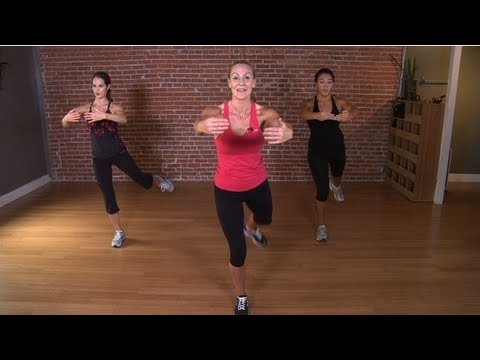 Victoria's Secret Model 10 Minute Workout (Fat Burner)