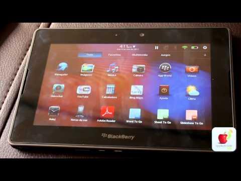 Blackberry Playbook completo análisis y tour por sus aplicaciones