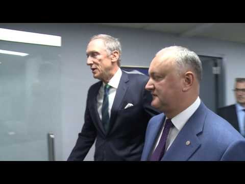 Igor Dodon a avut o întrevedere cu reprezentanții unor organizații evreiești