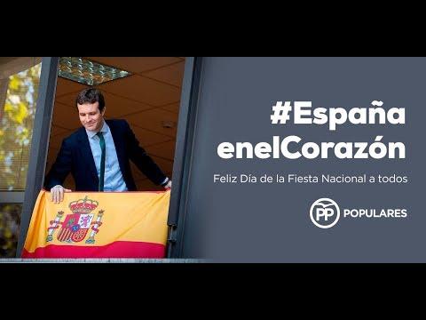 Feliz Día de la Fiesta Nacional #EspañaEnElCorazón...