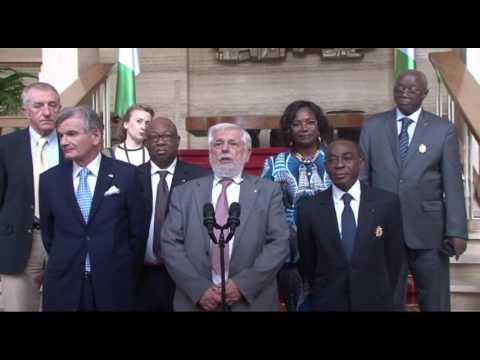 COTE D IVOIRE: LE PRESIDENT DU COMITE ECONOMIQUE ET SOCIAL EUROPEEN A ABIDJAN