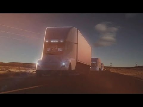 Anheuser-Busch orders 40 Tesla Semis