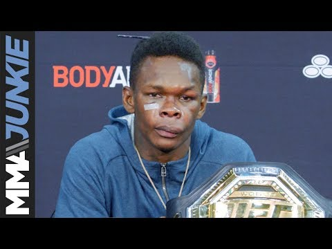 UFC 236: Israel Adesanya post fight press conference