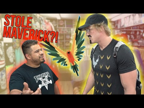 CONFRONTING STORE OWNERS SELLING FAKE MAVERICK MERCH! **hostile**