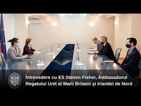 Reformele anticorupție, discutate de Președintele Maia Sandu cu Ambasadorul Regatului Unit al Marii Britanii și Irlandei de Nord