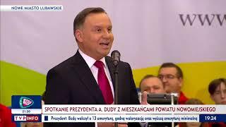 Prezydent Andrzej Duda: Przwyrócenie w Polsce sprawiedliwych sądów jest bardzo trudne.