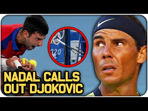 Nadal CALLS OUT Djokovic after Tokyo Olympics 2021 Outburst | Tennis News