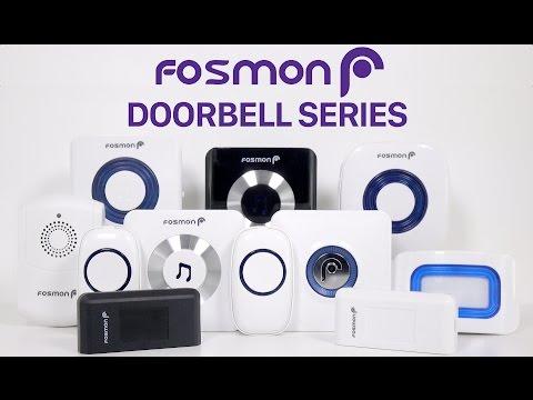 How to use the Wavelink Wireless Doorbell, Door Entry Sensor, Motion Sensor by Fosmon