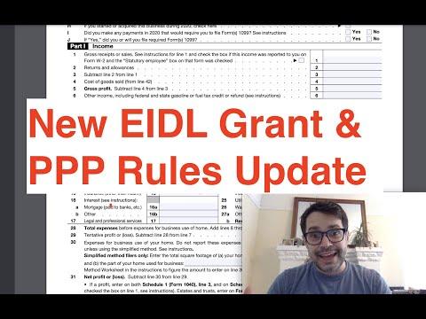 New EIDL Grant & PPP Rule Change Clarifications | $1.9T Stimulus Next Steps