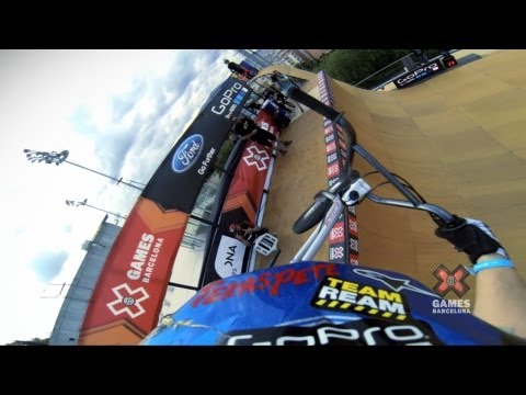 GoPro: Chad Kagy - BMX Vert Finals - Summer X Games 2013 Barcelona_Best extremsport videos