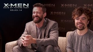 Hugh Jackman & Peter Dinklage Name the Mutants Challenge || X-Men: Days of Future Past