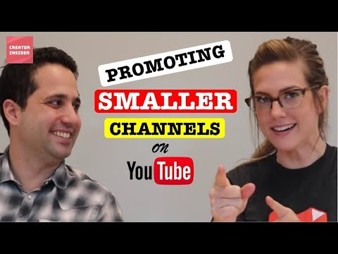 "Promoting Smaller Channels On Youtube - Give Us Your Feedback! | ""on The Rise"" In Explore"
