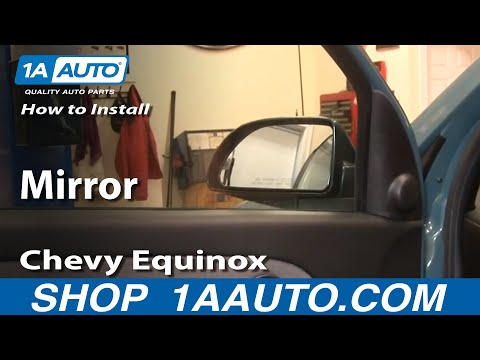 How To Install Replace Side Rear View Mirror Chevy Equinox 05-09 1AAuto.com