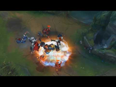 Mecha Zero Sion Ultimate In Slow Motion (видео)