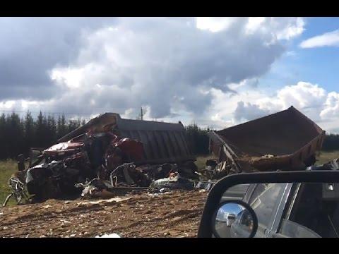 Аварии грузовиков Сентябрь 2015