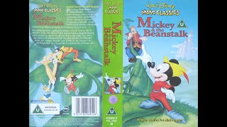 Video Opening of 'Mickey and the Beanstalk' (1993, UK VHS) MP3, 3GP, MP4, WEBM, AVI, FLV Mei 2019