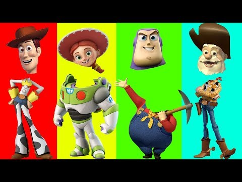 Video Wrong Heads Toy Story Learn Colors for Children Finger Family Nursery Rhymes and Toy Surprises download in MP3, 3GP, MP4, WEBM, AVI, FLV January 2017