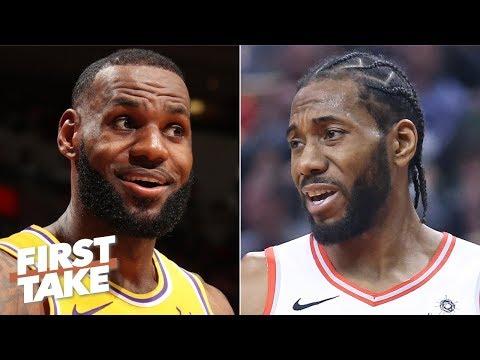 Kawhi will not be happy being LeBron's sidekick on the Lakers - Bomani Jones   First Take