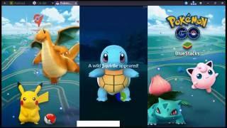 Pokemon go 0.41.4 in Bluestacks on PC - Chơi Pokemon Go bằng Bluestacks, pokemon go, pokemon go ios, pokemon go apk