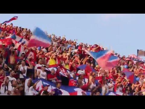 Fiesta en ENV / Envigado Vs MEDELLÍN / Liga I 2016 - Rexixtenxia Norte - Independiente Medellín
