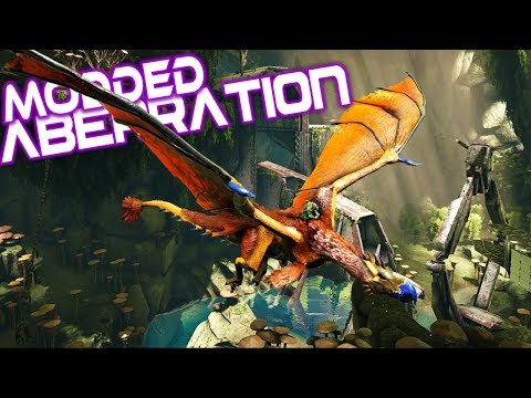 Ark Modded Aberration - Claiming A Dodo Wyvern With Zueljin! - Ep 12
