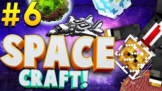 Minecraft SPACE CRAFT - DEFEATING THE ENDER DRAGON - Modded Survival #6