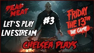 I'm playing the Friday the 13th video game and you can watch it LIVE!Patreon ► https://www.patreon.com/deadmeatjamesDead Meat on Social Media:Twitter ► https://twitter.com/deadmeatjamesInstagram ► http://instagram.com/deadmeatjamesFacebook ► https://www.facebook.com/deadmeatjamesJames A. Janisse on Social Media:Twitter ► https://twitter.com/jamesajanisseInstagram ► http://instagram.com/jamesajanissePractical Folks (James's other channel):https://www.youtube.com/practicalfolks