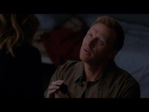 Owen Asks Teddy to Marry Him - Grey's Anatomy