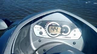 7. Acelerando na lagoa - Yamaha VX Cruiser 2007