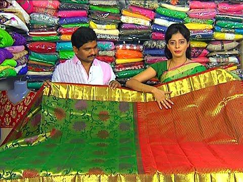 Bridal Collection Kanchi Pattu and Fancy Sarees | Sogasu Chuda Tarama | Vanitha TV 13 November 2015 03 18 PM