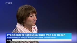 Prezidentem Rakouska bude Van der Bellen