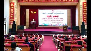 """MTTQ Thành phố Uông Bí: Phát động Tháng cao điểm """"Vì người nghèo"""" năm 2020"""
