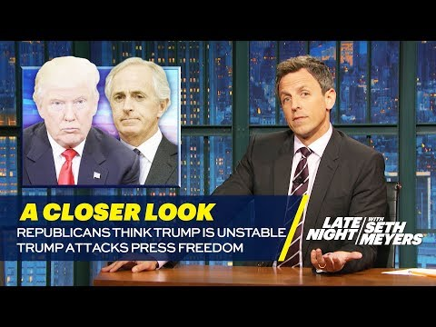 Republicans Think Trump Is Unstable, Trump Attacks Press Freedom: A Closer Look