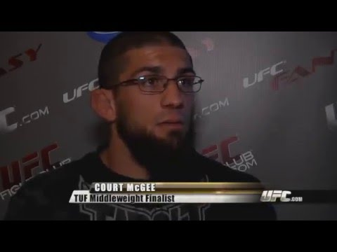 TUF 12 Main Event Feature on Court McGee and Kris McCray
