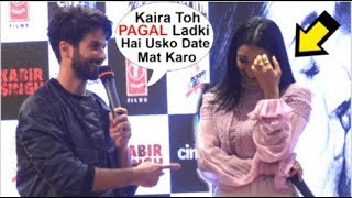 Shahid Kapoor Makes FUN Of Kaira Advani At Kabir Singh Mere Sohneya Song Launch