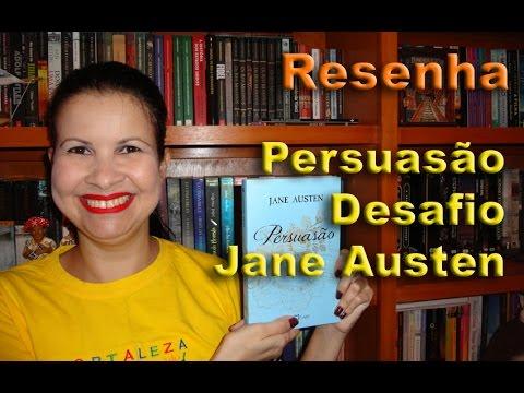 Livro Persuasão - Desafio Jane Austen - Por Glaucia de Paiva