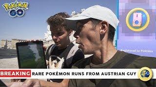 BREAKING NEWS: RARE WILD SPAWN RUNS FROM AUSTRIAN GUY IN POKÉMON GO by Trainer Tips