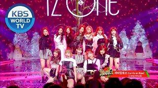 Video IZ*ONE - La vie en Rose   아이즈원 - 라비앙로즈 [Music Bank / 2018.12.21] MP3, 3GP, MP4, WEBM, AVI, FLV Maret 2019