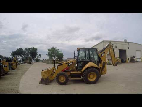 CATERPILLAR BACKHOE LOADERS 420FST equipment video PWxVJQImumw