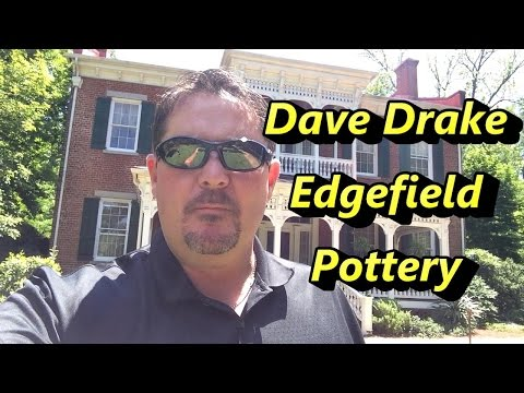Dave Drake Edgefield Pottery Jug! Madison, GA (видео)