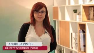 Arh. Int. Andreea Pinter despre colectia sa CUTIA