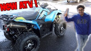 9. MY NEW ATV !! (POLARIS SCRAMBLER 850)