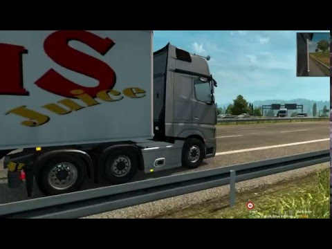 Mercedes Benz Actros MP4 New Sound BETA