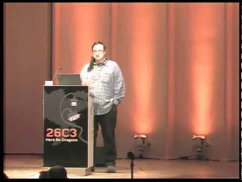 26C3: Yes We Cant  - on kleptography and cryptovirology 6/6