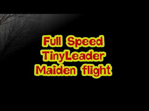 FullSpeed TinyLeader HD Maiden flight
