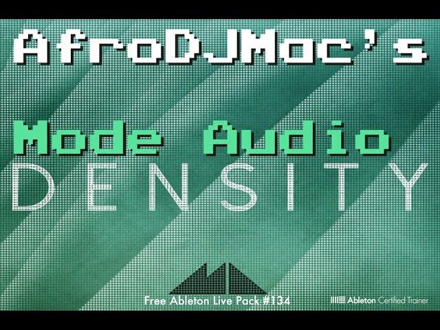 Mode Density Free Ableton Live Pack #134