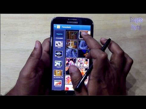 Samsung GALAXY NOTE 2 II TIPS and TRICKS, HELPS : Part 2, Review by GADGETS PORTAL