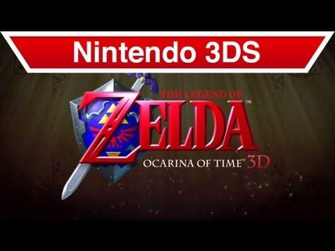 The Legend of Zelda Ocarina of Time (3DS)