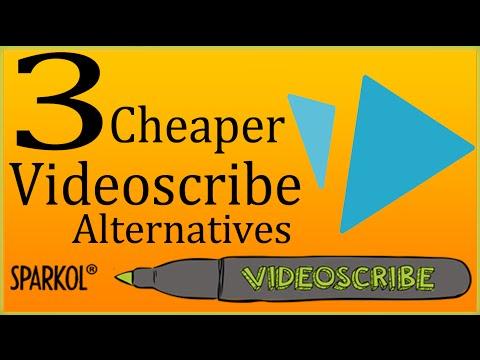 Videoscribe Alternatives | 3 Video Scribe Software Cheaper Than Sparkol Videoscribe